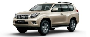 Toyota Land Cruiser Prado - Rs. 84.58 lakhs