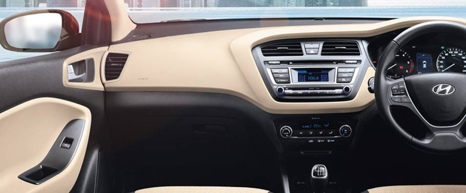 Hyundai Elite i20 Dashboard