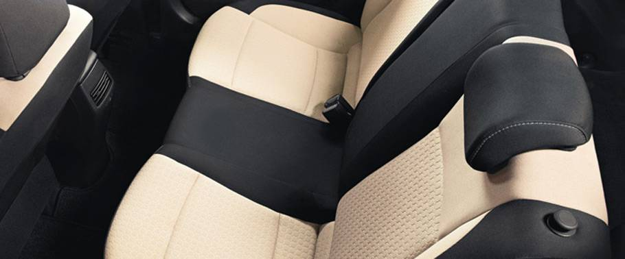 Hyundai Elite i20 Rear Seat