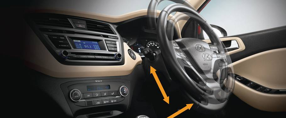 Hyundai Elite i20 Steering