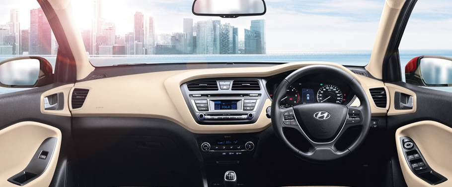 Hyundai Elite i20 interior HD Image