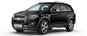 Chevrolet Captiva - Rs. 23.13 - 25.23 lakhs