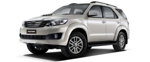 Toyota Fortuner - Rs. 22.25 - 24.28 lakhs