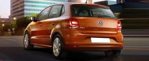 Volkswagen Polo Back view