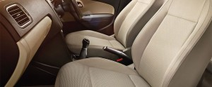 Volkswagen Polo front seat