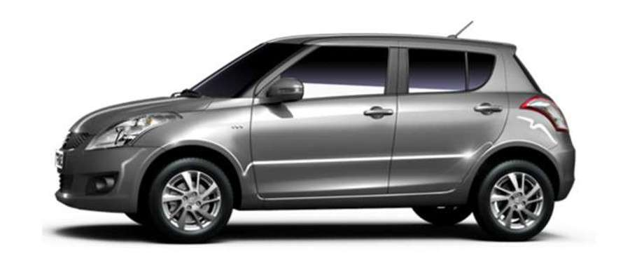 Maruti Suzuki Swift Side View