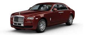 Rolls-Royce Ghost - Rs. 2.50 - 3.05 crores