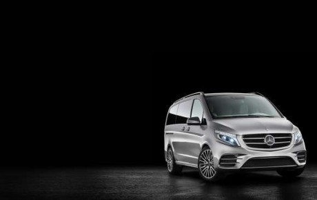 THE NEW CONCEPT OF MERCEDES V-ISION e