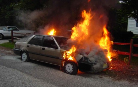 CAUSES OF CAR FIRES