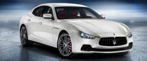 Maserati Ghibli side view 1