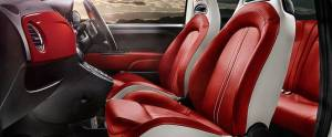 Fiat Abarth 595 Front Seat