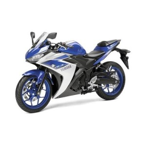 Yamaha YZF R3 front left side view