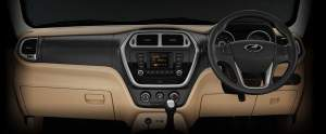 Mahindra TUV300 interior photo