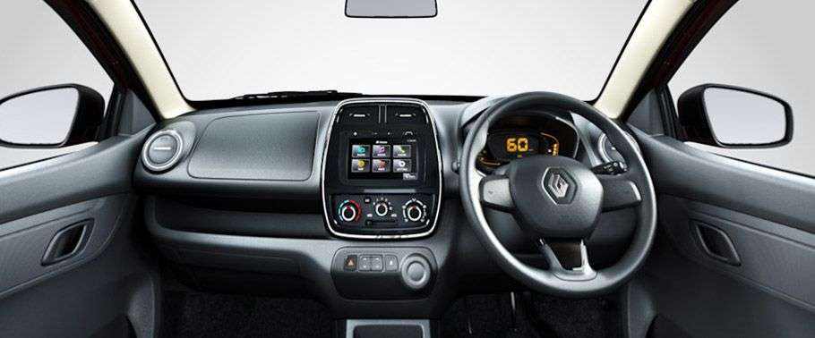 Renault Kwid Dashboard Interior HD Wallpaper