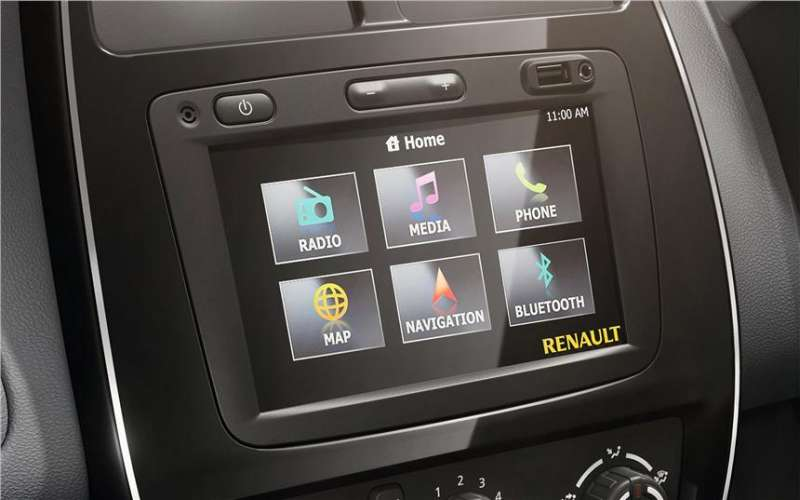 Renault Kwid Screen Touch display