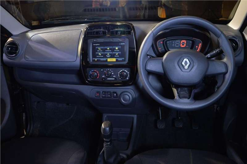 Renault Kwid black interior
