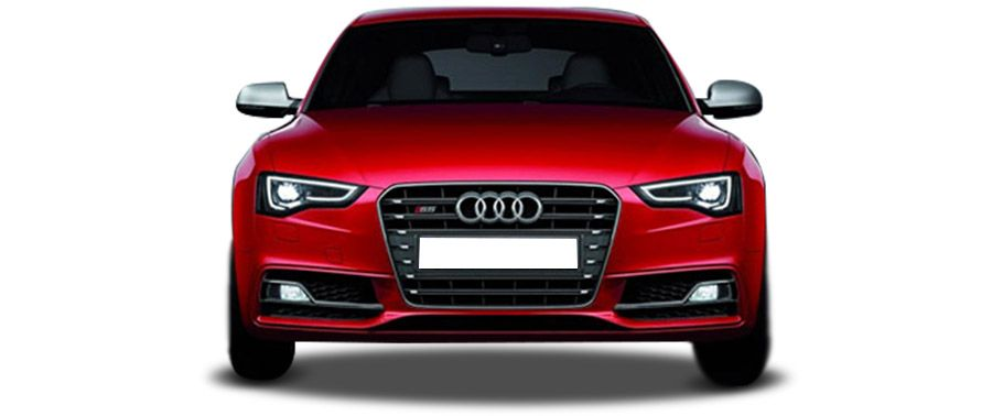 Audi S5 Sportback Front View with headlight