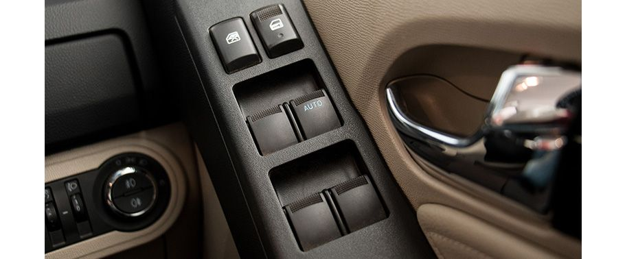 Chevrolet Trailblazer Door Controls