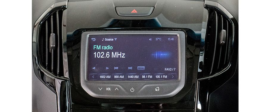 Chevrolet Trailblazer Touch Screen Display Music System