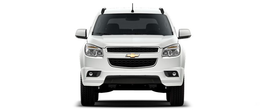 Chevrolet Trailblazer White Front View