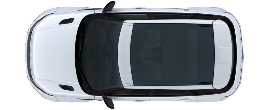 Car N Bike Expert 187 Land Rover Range Rover Evoque Top View