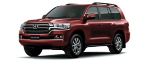 Toyota Land Cruiser - Rs. 1.29 Crore