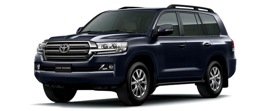 Toyota Land Cruiser Blue