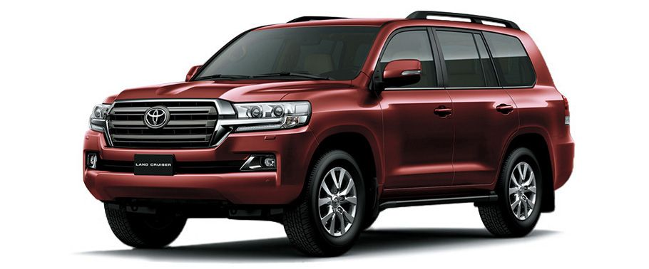 Toyota Land Cruiser Copper Brown Mica
