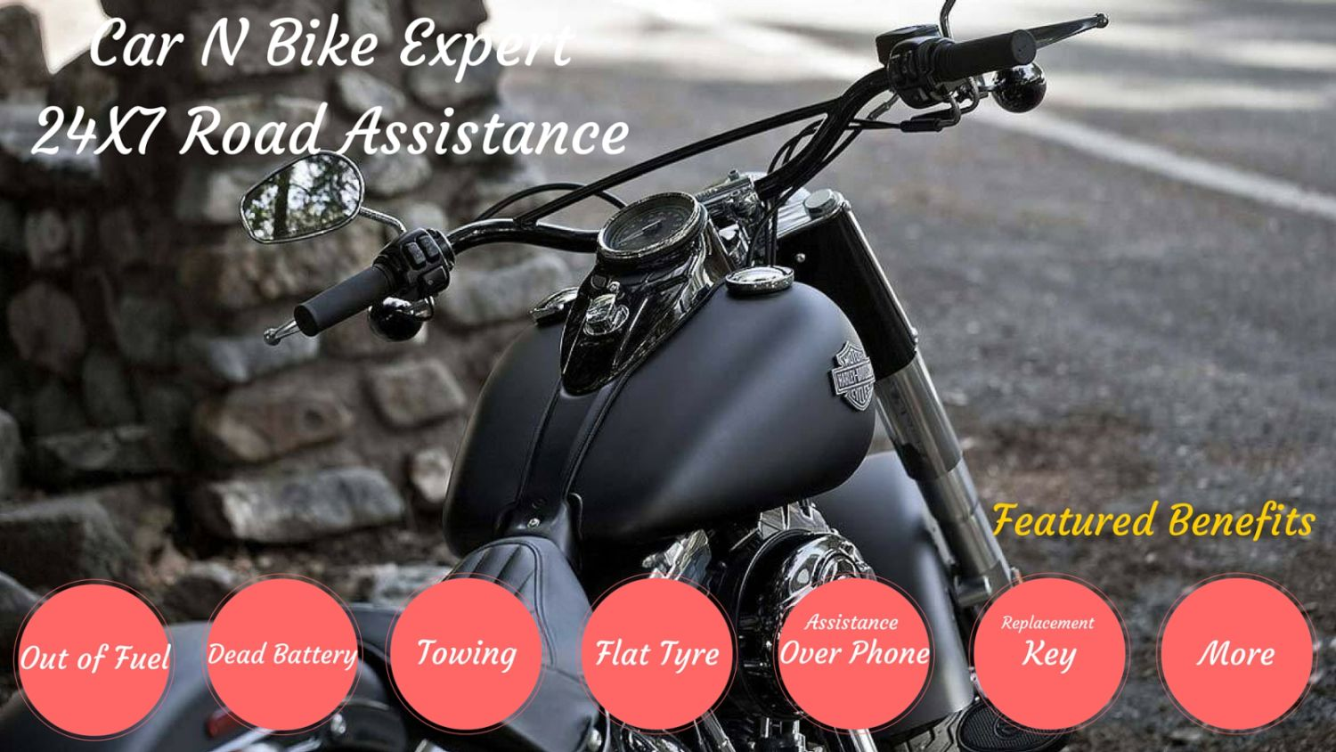 24x7 Bike Road Assistance