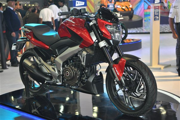 Bajaj Dominar 400 Red
