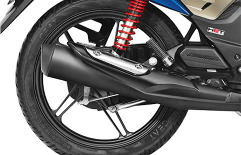 Honda CB Shine SP Rear Alloy Wheel With Suspension