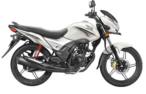 Honda CB Shine SP White