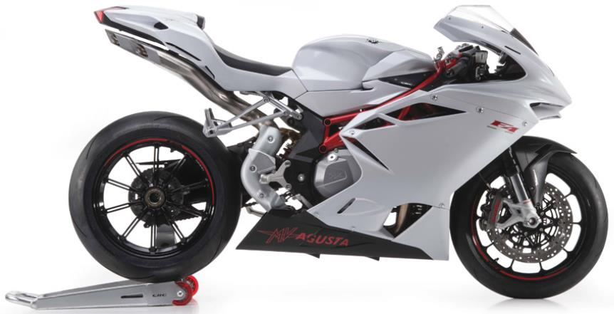 MV Agusta F4 Side View