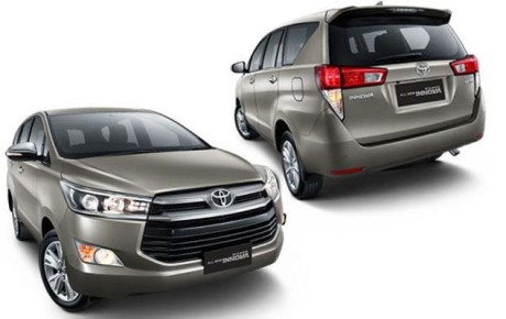 Upcoming New Toyota Innova 2016 is  presenting at the 2016 Indian Auto Expo