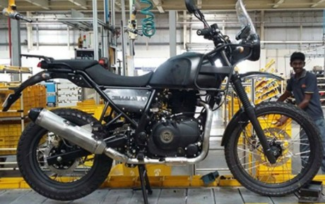 New Royal Enfield Himalayan has launched in India at Rs. 1.55 lakh