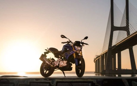 Upcoming BMW G310R Bike