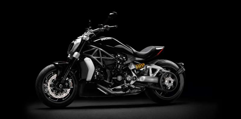 Ducati XDiavel Side view