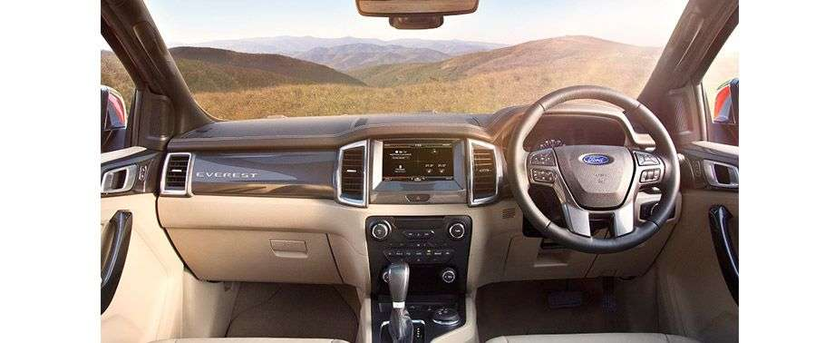 Ford Endeavour Dashboard