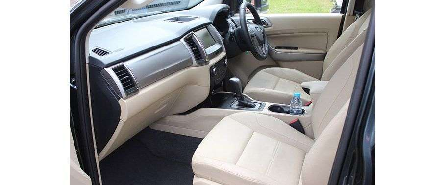 Ford Endeavour Front Seat
