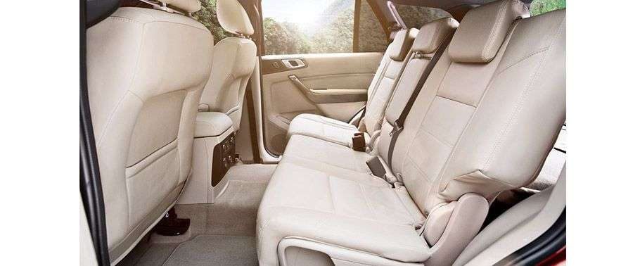 Ford Endeavour rear Seat