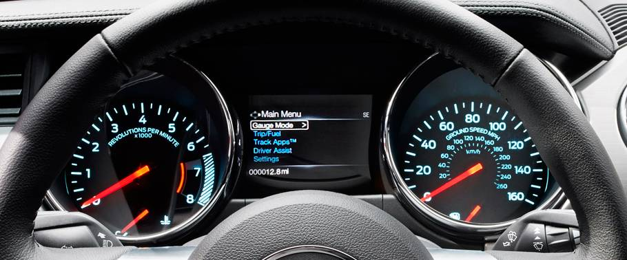 Ford Mustang Speedometer