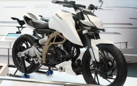 Upcoming TVS Draken X-21 250cc Bike