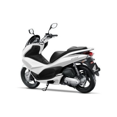 Honda PCX white side view