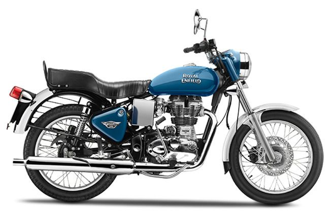 Royal Enfield Bullet Electra Blue Picture