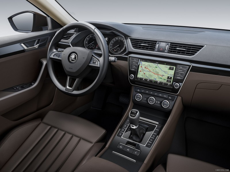 Skoda Superb Interior HD Picture