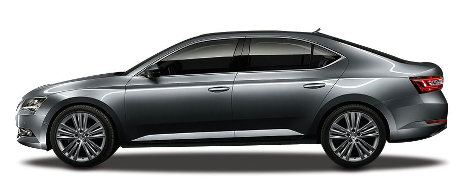 Skoda Superb Side View Image