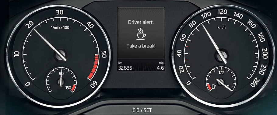 Skoda Superb Speedometer