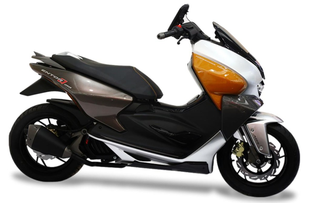 Tvs Entorq 210 Concept Scooter Scooty Showcased At 2016