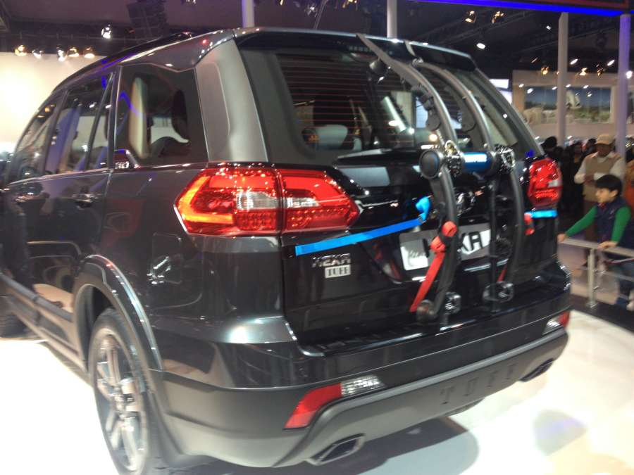 Tata Hexa Rear View