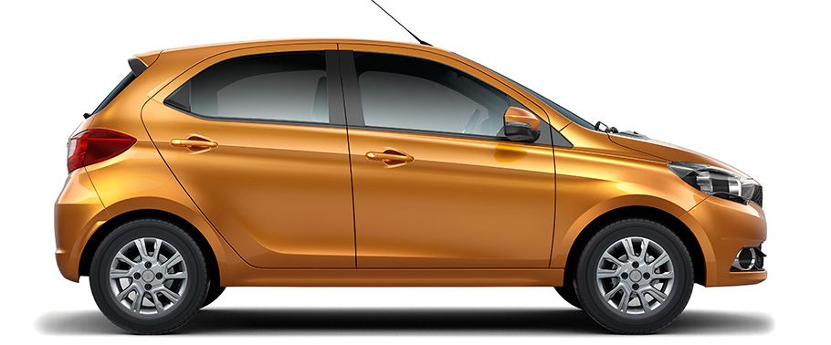 Tata Tiago Side view HD Photo